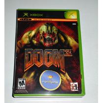Doom 3   Ação   Tiro   Luta   Terror   Jogo Xbox   Original