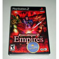 Dynasty Warriors 4 Empires | Ação | Jogo Ps2 | Original