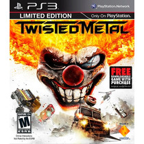 Ps3 Twisted Metal Envio Imediato
