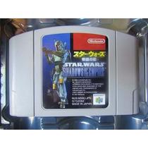 Star Wars Fita Nintendo 64 Nova, Na Caixa, Baixou!