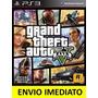 Jogo Gta V Gta 5 Grand Theft Auto Ps3 Digital Psn Português