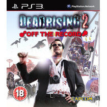 Dead Rising 2 Off The Record Playstation3 Ps3 Bluray Frete 7