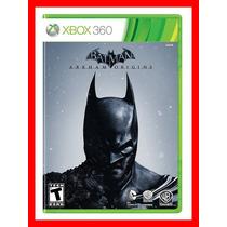 Batman Arkham Origins Midia Fisica Lacrado - Xbox 360