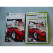 Pgr Project Gotham Racing 3 Xbox 360 Made Japan