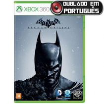 Jogo Batman Arkham Origins Xbox 360 Original Rcr Games