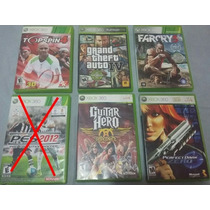 Lote Com 5 Jogos Originas Xbox 360 Pronta Entrega