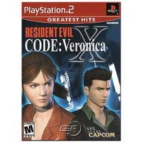 Resident Evil Code Veronica X. ! Jogos Ps2