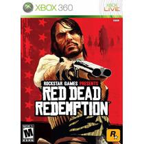 Red Dead Redemption Xbox 360 Mídia Física Lacrado