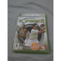 Top Spin 2 Xbox 360 Europeu Sistema Palm