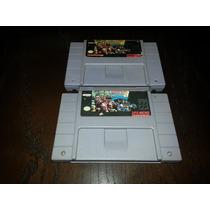 Donkey Kong Country 2 Original Nacional Para Super Nintendo