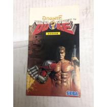 Manual Do Jogo De Mega Drive Dynamite Duke