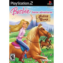 Jogo Barbie Horse Adventures Riding Camp Para Ps2 A6739
