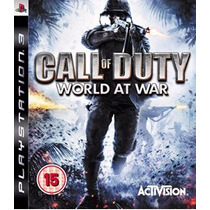 Ps3 - Call Of Duty World At War - Midia Fisica - Semi Novo