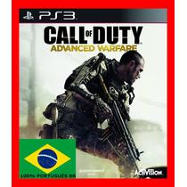 Call Of Duty Cod Advanced Warfare Ps3 Psn - Portugues Br