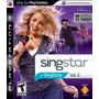 Jogo Novo Lacrado Singstar Vol. 2 Para Playstation 3 Ps3