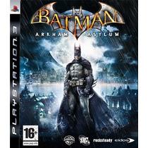 Ps3 - Batman Arkhan Asylum - Midia Fisica - Semi Novo