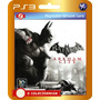 Batman Arkham City + Brinde! (código Ps3)