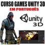 Curso De Unity 3d Crie Jogos Para Video Games Em 15 Dvds