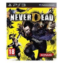 Never Dead Ps3 Usado