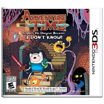 Adventure Time Explore The Dungeon Because I Don´t Know 3ds
