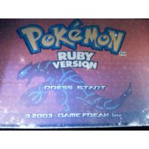 Pokemon Ruby Version Gba