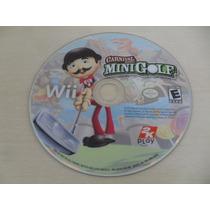 Carnival Games Mini Golf Nintendo Wii Midia Fisica