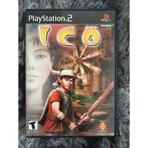 Novo Jogo Ico Original Ps2 Cx Mnl 100%