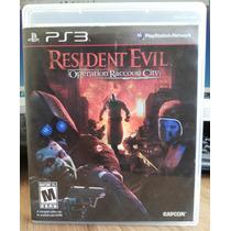 Jogo Resident Evil Operation Raccoon City Play 3 (original)