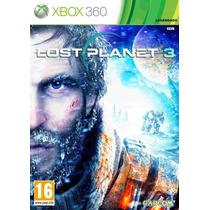 Lost Planet 3 Xbox 360 Novo Lacrado Legendado Em Português