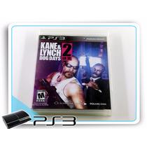 Ps3 Kane & Lynch Dog Days 2 Original Playstation 3