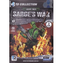 Cd Rom Td Collection Army Men Sarges´s War