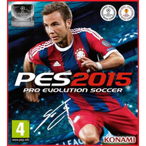 Pro Evolution Soccer 2015 Pes 2015 Original Pc
