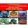 Carros Disney Para Ps2 (kit 6 Jogos Playstation 2 Cars