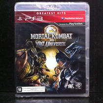 Mortal Kombat Vs Dc Universe - Ps3 Lacrado!
