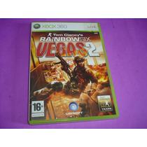Xbox 360 : Jogo Raibon Six Vegas 2 Original Na Caixa