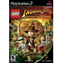 Lego Indiana Jones Playstation 2 (kit 7 Jogos Ps2 Infantil