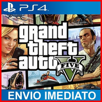 Gta 5 - Ps4 Original - Jogo Playstation 4 - Primaria