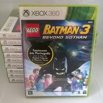 Lego Batman 3 Xbox 360 Original, Nacional, Novo Rcr Games