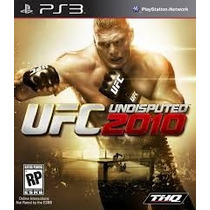 Ufc 2010 Undisputed Ps3 Semi Novo