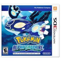 Jogo Pokemon Alpha Sapphire Nintendo 3ds - Pronta Entrega