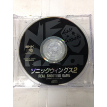 Cd De Neo Geo Original Sonic Wings 2 ( Aviao/nave )