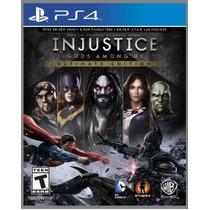 Injustice Ps4 Português Primaria Psn Rafa Gamer!