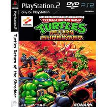 Tartarugas Ninjas O Retorno Do Destruidor - Playstation 2