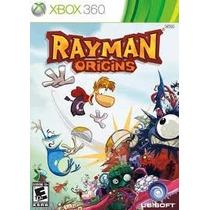 Rayman Origins X360 Lacrado Novo Frete Cr Grátis* Brasil