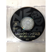 Cd De Neo Geo Original Sonic Wings 3 ( Aviao/nave )