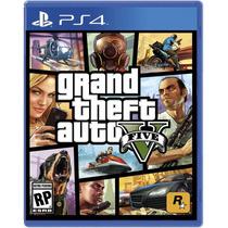 Jogo Novo Grand Theft Auto V Gta 5 Para Playstation 4 Ps4
