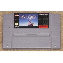 Super Nes: Final Fantasy Mystic Quest Rpg Original Americano