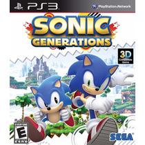 Sonic Generations - Ps3 - Pronta Entrega!