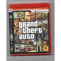 Grand Theft Auto Iv (gta 4) - Para Ps3