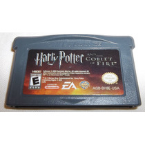 Gba: Harry Potter And The Goblet Of Fire Original Americano!
